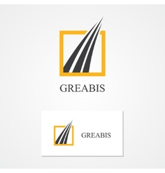Logo for financial and bank companies vector