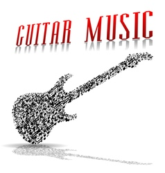 Play guitar vector image