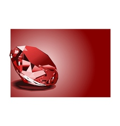 Red ruby vector