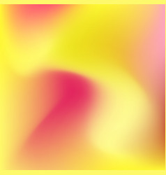 Yellow and pink fluid background vector