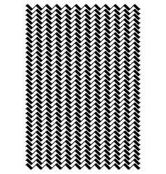 Wavey line block pattern vector image
