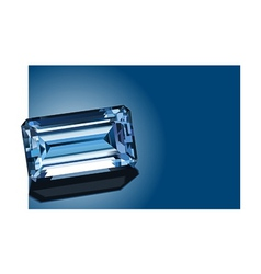 sapphire vector image