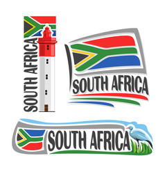 logo for south africa vector image vector image