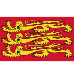 Royal Banner of England vector image vector image