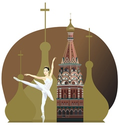 Russian Background vector image
