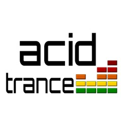 Acid trance dj equalizer dance music volume alpha vector