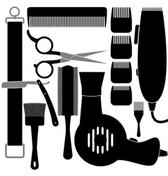 Hair accessories vector