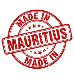 Made in mauritius vector