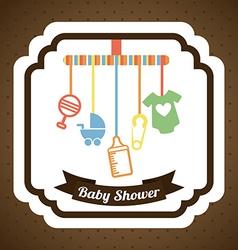 baby design vector image vector image