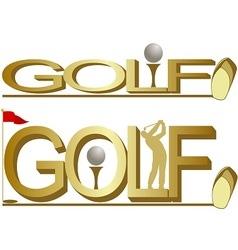 Golf-1 vector
