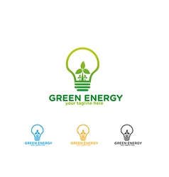 Green Energy Logo vector image