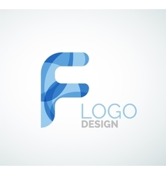 Letter logo vector