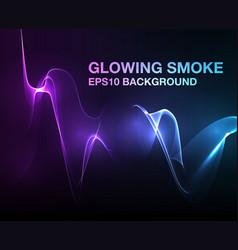 lights - smoke vector image