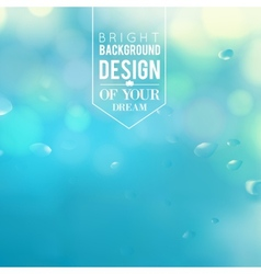 Blue lights background vector