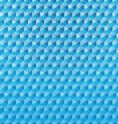 Blue polygonal mosaic background vector