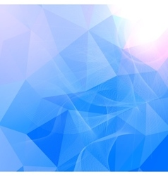 Abstract geometrical background from triangles vector