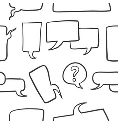 collection stock of bubble speech style vector image vector image
