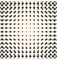 halftone circles seamless pattern half tone dots vector image vector image