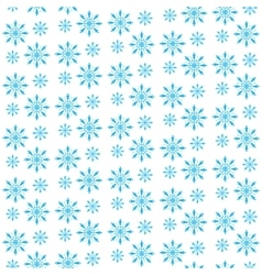 Snowflake seamless pattern Snowflake background vector image vector image