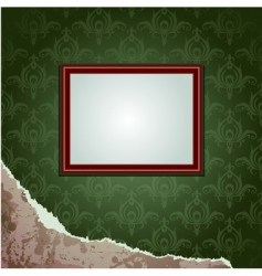 wallpapers torn and frame vector image
