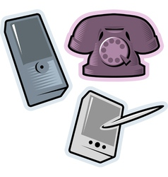 Objects for communication vector