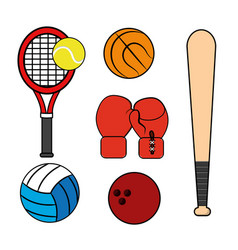 sport game background icon vector image