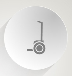 Icon for segway vector