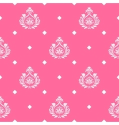 princess seamless background vector image