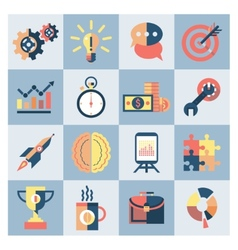 Creative icons set vector image vector image