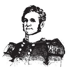 General william j worth vintage vector