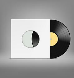 Old vinyl record vector
