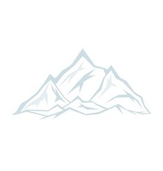 Spurs of the blue mountains vector