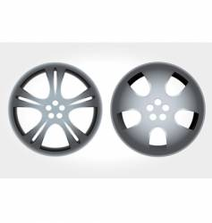 Alloy rims vector