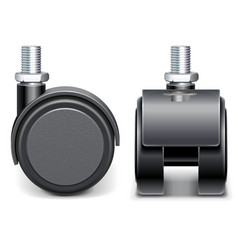 Furniture Wheel vector image