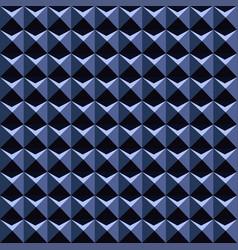 Blue 3d pattern - seamless background vector
