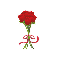 cute flower decoration icon vector image