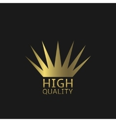 High quality symbol vector image
