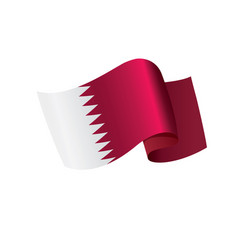 Qatar flag vector
