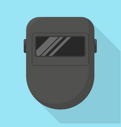 welder mask icon vector image vector image