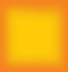halftone color cartoon retro background theme vector image