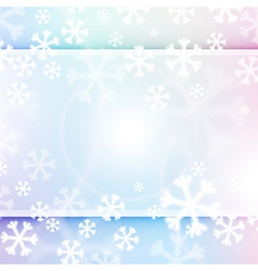 Christmas background in soft colors vector