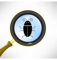 Computer bug vector