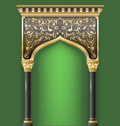 Fairy eastern arch vector