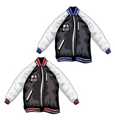 Sports jackets for teenagers clothing vector