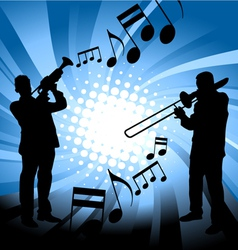 Musical group vector