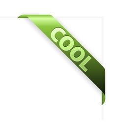 Cool corner vector