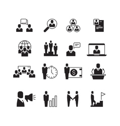 Business people professional team office group vector image