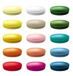 Pills tablets vector image