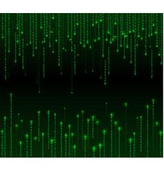 Technology binary background vector