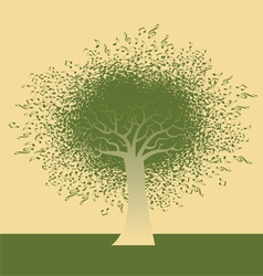 Funky note tree vector